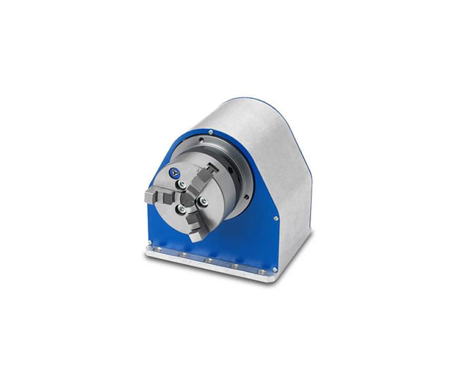 laser-rotační osa